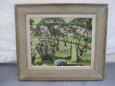 Arthur Boyd Abstract Oil Painting Signed Australian