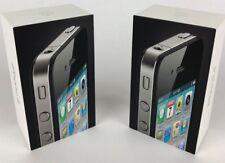 2 Original BOXES Apple iPhone 4 Black 32GB EMPTY BOX ONLY NO PHONE