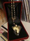 Lana del Rey SEALED necklace rosary heart spoon rosario cuchara sellado