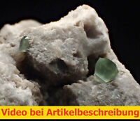 7984 Boracit boracite x=4mm ca 3,5*3*3 cm 1990 Bernburg Deutschland MOVIE