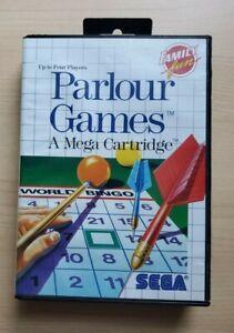 (No Game) Parlour Games Sega Master System CASE ONLY