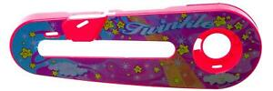 """TWINKLE Design Kids Bike Bicycle CHAIN GUARD for 12"""" WHEELS in PINK & YELLOW"""