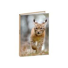Agenda Scolaire 2021-2022 - 17x12 cm - Multilingue - Animal : Lynx