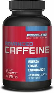 ProLab ADVANCED Caffeine 200mg - ONE DOZEN BOTTLES!  60 TABLETS EACH  Exp Jan/22