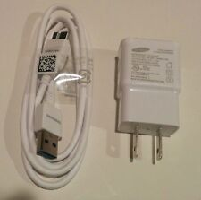 New OEM Samsung Wall Charger + OEM USB 3.0 Data Sync Cable For Galaxy Note 3 S5*