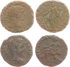 Lot From 2 AE as-Größe Antique/Various Roman Emperor (12) S-Ss