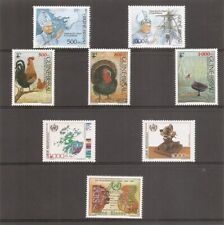 Guinea-Bissau SC # 885-6, 889-90, 891-93, 895 Pope Jhon Paul, Lubrapex '90 ETC
