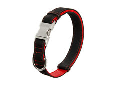 Hundehalsband Karlie - Halsband Buffalo Ultra 45 - 65 cm 25 mm schwarz-rot