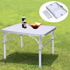 Alu Campingtisch Falttisch Klapptisch verstellbar Tisch für Camping Picknick SU_