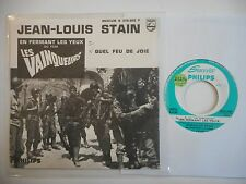 45t SIXTIES PORT 0€ ▓ JEAN LOUIS STAIN : QUEL FEU DE JOIE
