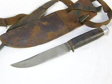 Vintage CL Koller Solingen Germany German Fixed Blade Hunting Knife