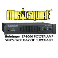 Behringer EuroPower EP4000 Power Amp Euro Power EP 4000 Mint w/ Free U.S. Ship