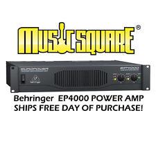 Behringer EuroPower Ep4000 Power Amp Euro Power Ep 4000 Mint w/ Free U.S. Ship
