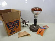 Vintage Rex-Ray Infra Red Heat Lamp w/Stand NOS in Orig. Box