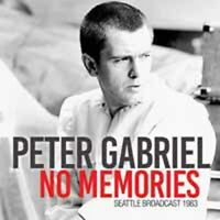 NO MEMORIES  by PETER GABRIEL  Compact Disc  ICON074