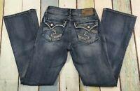 Silver Jeans Suki FLAP 28X32 WOMENS STRETCH Boot Cut LIGHT WASH FLAP POCKET