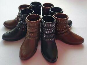 Mattel UNBOXED Creatable World Boots shoes fit Sindy1:6 doll feet 2.5 x 1cm