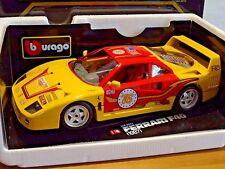 Ferrari F40 Spirit of Le Mans 76 Bburago 1:18 in OVP selten / rar