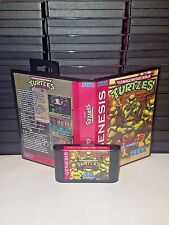 Teenage Mutant Ninja Turtles Streets of Rage 2 Game for Sega Genesis! Cart & Box