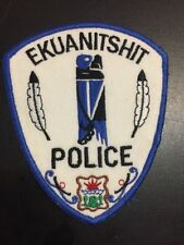 New EKUANITSHIT QUEBEC Tribal Police Canada patch!