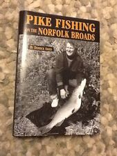 Signed Derrick Amies Pike Fishing On The Norfolk Broads 1st Print Uncorrected