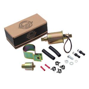 New 6 Volt Universal Electric Fuel Pump Installation Kit Cabureted Vehicle E8011