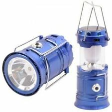 Solar/Rechargeable 6-W Led Light Lantern Lamp Inbuilt Mobile Usb Powe  Bank