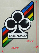 Colnago decal label white background size 230 x 330mm No.106L ca