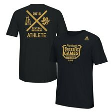 Reebok 2016 CrossFit Games Regionals Men's Black Central Regional T-Shirt