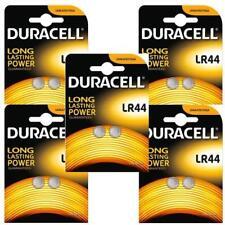 10 x Duracell LR44 1.5V Batteries LR 44 A76 AG13. (5 x 2 pack)