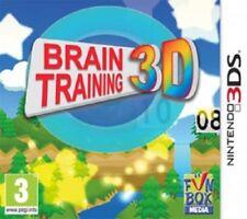 BRAIN TRAINING 3D per NINTENDO 3DS (Nuovo Sigillato)