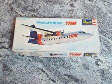 Revell Fokker Super MK 600 TAM Model Kit 1/94 Brazil Rare Unbuilt H-297