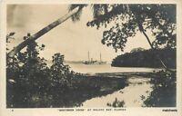 1920s Southern Cross Halavo Bay Florida RPPC real Photo postcard 11343