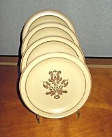 "Pfaltzgraff Village Salad Plates Lot of 4 Old Castle Mark 7"" EUC More Available"