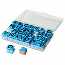 Educational Insights Uppercase Alphabet Stamps - Custom Message Stampplastic