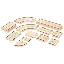Guidecraft Wooden Roadway Track System