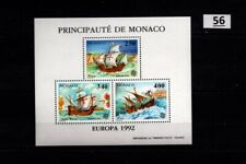 / MONACO 1992 - MNH - EUROPA CEPT - SHIPS