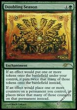 4 PROMO FOIL Doubling Season - Green Judge Mtg Magic Rare 4x x4
