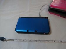 Nintendo 3DS XL Blue black game console handheld hard shell case SPR-001 3D RARE