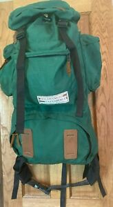Vintage Wilderness Experience Backpack W/ Side Pockets Size Small MINT