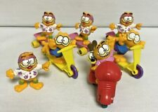 McDonald's Garfield 1988 Happy Meal Toys PVC Lot of 7