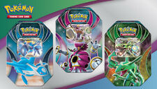 Pokémon Ex Power Trio Conjunto De Estanho (RAYQUAZA, THREE LATIOS, hoopa)
