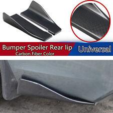 Polyurethane (ABS) Glossy Car Bumper Spoiler Rear Lip Angle Splitter Diffuser