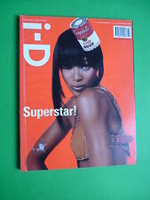 i-D Fashion magazine February 2003 Naomi Campbell cover by Tesh