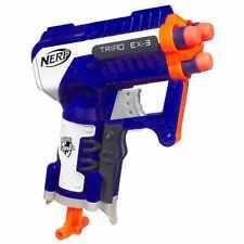 Brand New NERF N-Strike Elite TRIAD EX-3 Dart BLASTER
