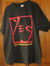 "2002 YES The CLASSIC YES Tour tee T Shirt size XL, length 30"" pit to pit 24"""