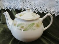 LOVELY  VINTAGE DUCHESS CHINA  TEAPOT HOLDS  2pts GREENSLEEVES' DESIGN
