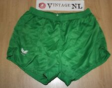 VINTAGE ERIMA GLANZ  nylon short Shorts GR 8 / XL DIRTY