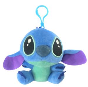 "Lilo & Stitch Soft Plush Stuffed Keychain Toy Doll Pendant 4.5"" Backpack Clip"