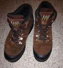 Bass Sport Hiking Hunting Snow Ankle Boots 0338 Leather Uppers Mens 11 D